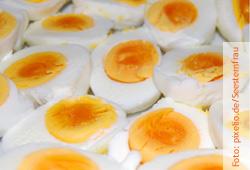 Eier sind wahre Cholesterinbomben