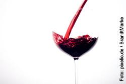 Das berühmte tägliche Glas Wein ist unschädlich - jedoch sollte es  bei einem Glas bleiben
