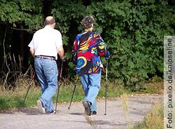Sportliche Betätigung unterstützt den Kampf gegen die überflüssigen Kilos