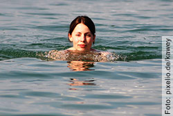 Schwimmen ist ein guter Ausgleich für Körper und Seele