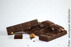 Natürlich darf man auch Schokolade geniessen, nur nicht gerade eine ganze Tafel