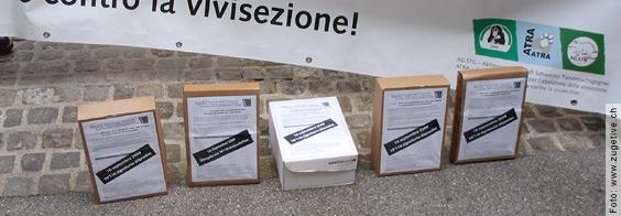 (Update) Petition «Stoppt die Affenversuche an der Universität Freiburg!»