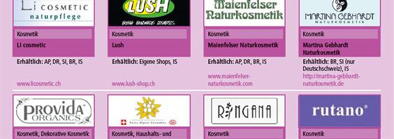 Kosmetik ohne Tierversuche - Welche Firmen/Marken wir empfehlen können