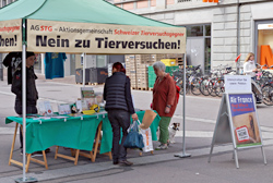 24. Mai 2014 - AG STG Informationsstand in Winterthur